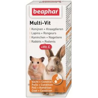 Витамини за гризачи BEAPHAR MULTI VIT, 20 ml