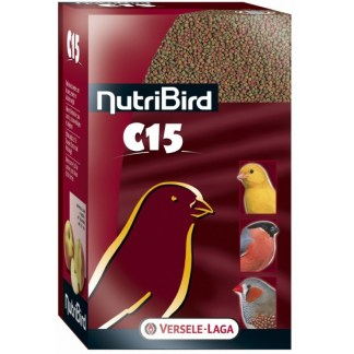 Гранулирана храна за канари и финки VERSELE LAGA NUTRIBIRD C15, 1 kg