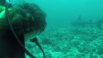 Me with bull shark
