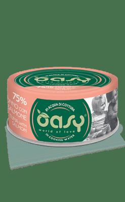 Oasy - Umido Cat More Love - Tonno con Salmone. 70gr