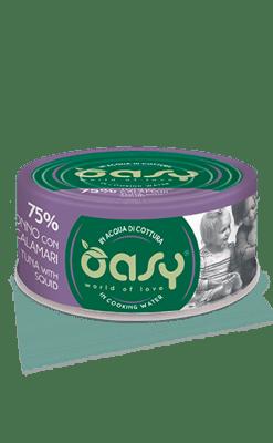 Oasy - Umido Cat More Love - Tonno con Calamari. 70gr