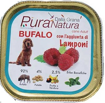 Pura Natura - Bufalo Lamponi. 150gr