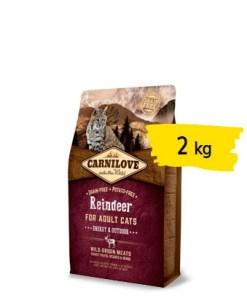 Carnilove - Crocchette Gatto Energy Renna. 2kg