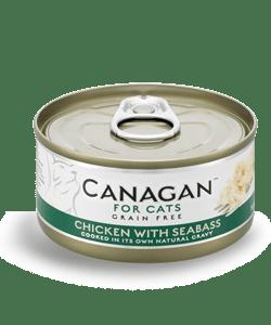 Canagan – Cat Chicken with Seabass Pollo + Spigola. 75Gr