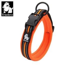 Truelove - Collare regolabile in Nylon imbottito riflettente. Taglia XXL