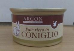 Argon - Patè con Coniglio. 85gr