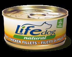 Life Dog - Umido Filetti di Pollo e Verdure. 170gr