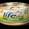 Life Dog - Umido Ragù di Pollo. 170gr