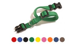 Camon - Collare Sgancio Regolabile Verde 15mm