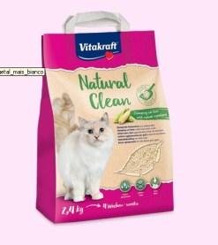 Vitakraft - Lettiera Natural Clean mais bianco. 4,2L