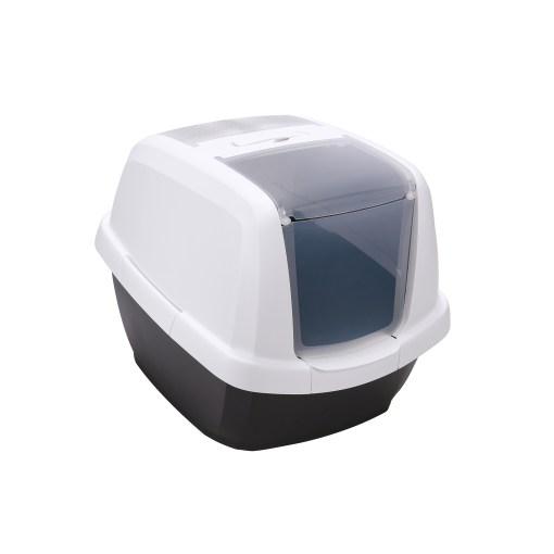 Imac – Toilette chiusa Maddy. Antracite – 62x49,5x47,5 cm