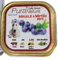 Pura Natura - Maiale Mirtillo. 150gr
