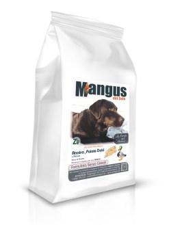 Mangus del Sole - Dog Grain Free Anatra Patata Dolce. 12kg