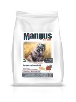 Mangus del Sole - Cat Grain Free Tacchino. 2kg