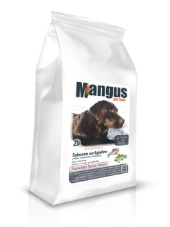 Mangus del Sole - Dog Grain Free Puppy Salmone Patata Dolce. 6kg