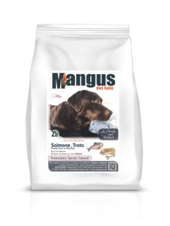 Mangus del Sole - Dog Grain Free Small B. Salmone Trota. 2kg
