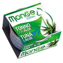 Monge - Cat Fruit Tonno Aloe 80gr