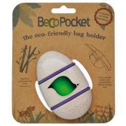 Becothings - Portasacchetti con ricambi Naturale 9x4x5 cm