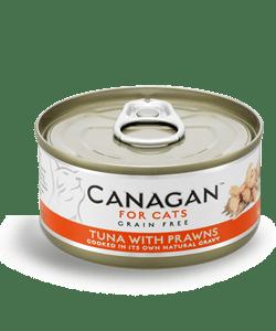 Canagan – Cat Tuna with Praws Tonno + Gamberi. 75Gr