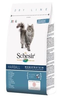 Schesir Cat Hairball Pollo. 1.5kg