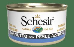 Schesir -Cat Tonno e Pesce Azzurro. 85gr