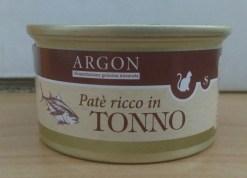Argon - Patè con Tonno per gatti sterilizzati. 85gr