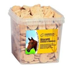 Guidolin - biscotti per Cavalli ai fiocchi di cereali e vaniglia. 2.5kg
