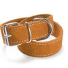 Record – Collare Camoscio Doppio arancione. Taglia L