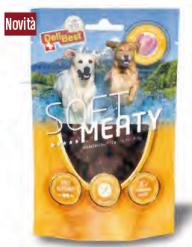 Delibest - Dog snack morbidi di Pollo Svizzero. 150gr
