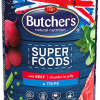 Butcher's - Super Foods bocconcini in gelatina con carne di manzo e trippa. 400gr