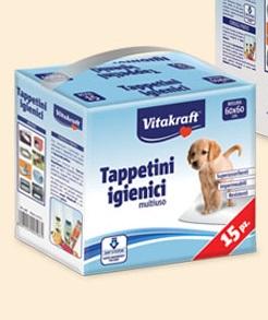 Vitakrat - Tappetini igienici assorbenti 60x60 cm. 15pz