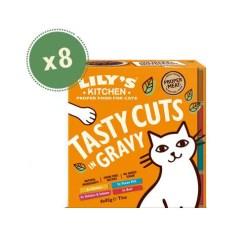Lily's Kitchen Cat Multipack bocconcini in salsa 85gr, gusti misti. 8pz