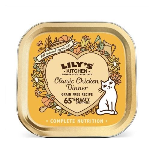 Lily's Kitchen Cat Cena Classica con Pollo. 85g