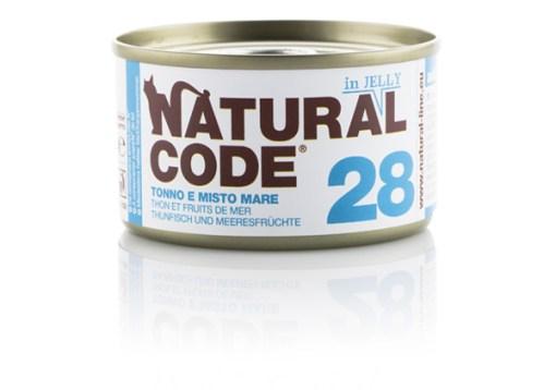 Natural Code - Cat Tonno e misto mare jelly. 85gr
