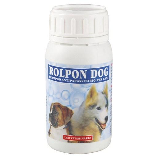 Rolpon - shampoo antiparassiti per cani. 250ml