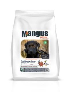 Mangus del Sole - Dog Grain Free Small B. Puppy Anatra, Tacchino e Patata Dolce. 2kg