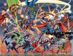 Avengers Vs JLA