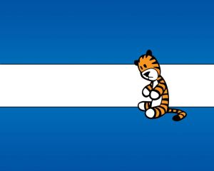 Calvin and Hobbes – Stuffed Tiger