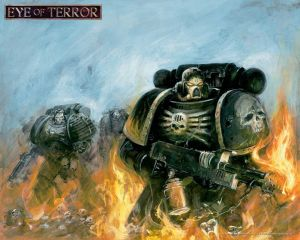 chaos marine – eye of terror