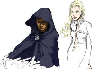 Cloak and Dagger – sketch