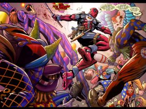 Deadpool Hates Clowns