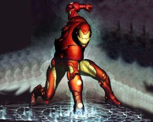 Iron man – punching the ground