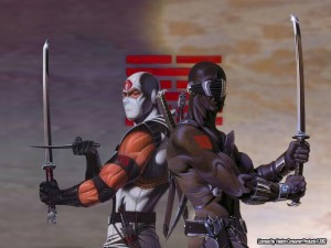 Storm Shadow and Snake Eyes