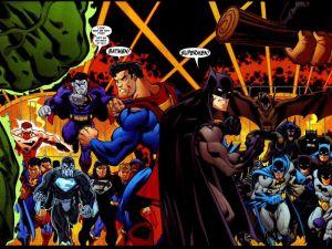 Supermen and Batmen