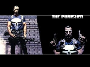 the punisher holds his guns
