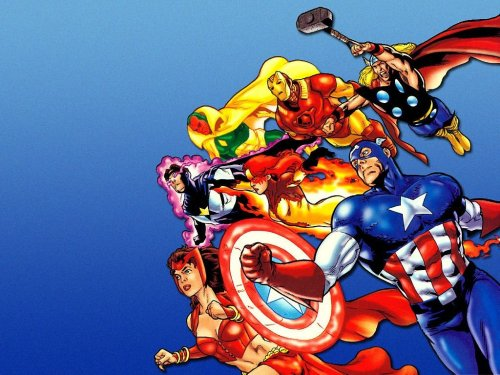 Avengers Leap to action