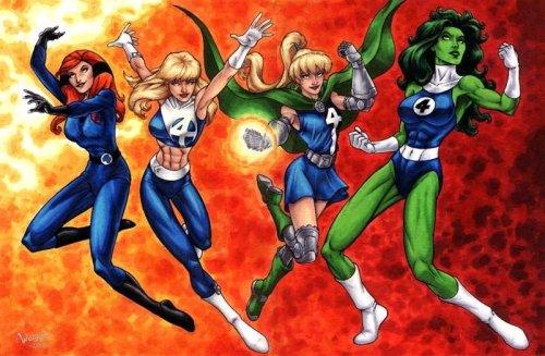 Fantastic Four Ladies