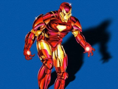 Iron Man Angry