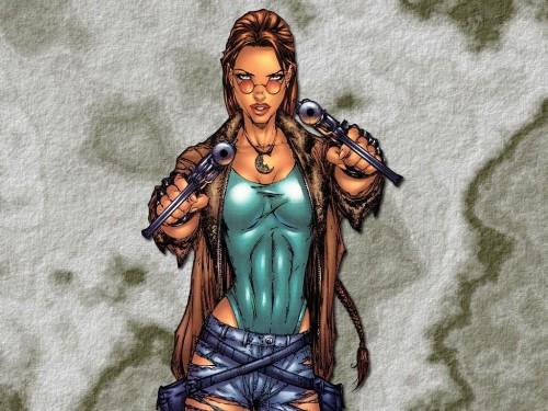 Lara Croft – Twin Pistols