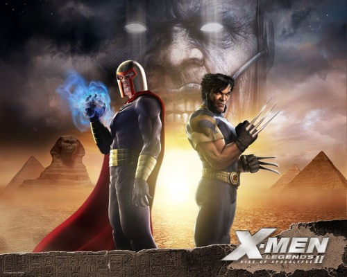 Magneto & Wolverine (X-men Legends II)